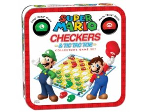 Super Mario Checkers & Tic Tac Toe box