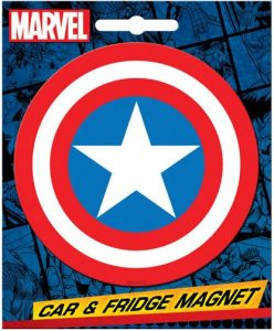 Captain America Car Magnet