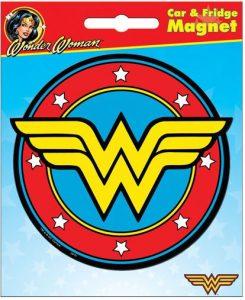 Wonder Woman Car Magnet