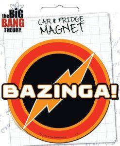 Bazinga Car Magnet