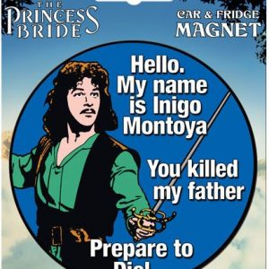 Princess Bride Car Magnet