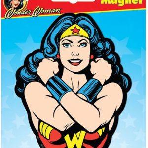 Wonder Woman Face Car Magnet