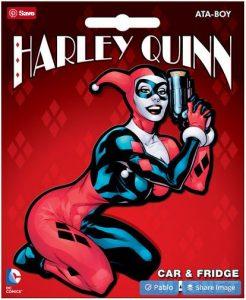 Harley Quinn Car Magnet