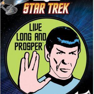 Star Trek Live Long and Prosper Sticker