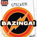 Bazinga Sticker