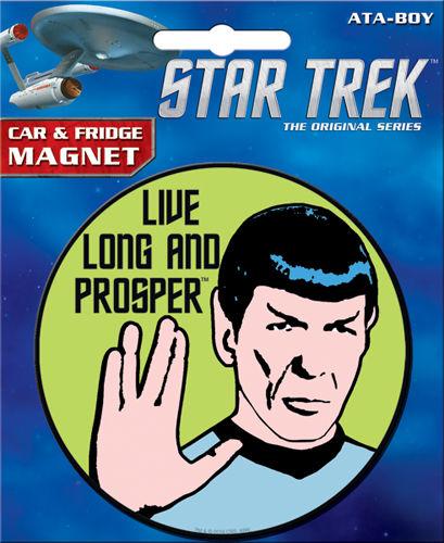 Star Trek Spock magnet