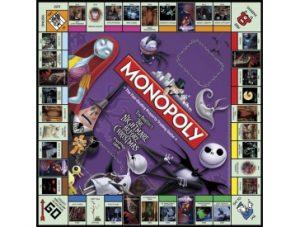 Nightmare Before Christmas Monopoly Board