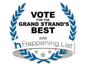 Winner of  Grand Strand's Happening List
