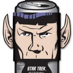 Star Trek Spock Diecut Can Cooler