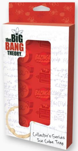 Big Bang Theory Ice Cube Tray