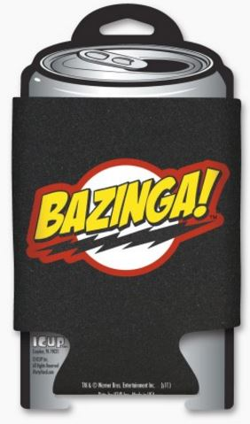 Big Bang Theory Bazinga Logo Huggie
