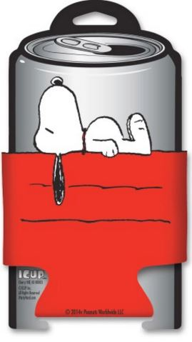 Peanuts Snoopy Dog House Diecut Can Cooler