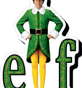 Elf Chunky Magnet