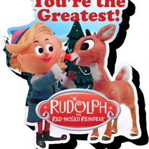 Rudolph Greatest Chunky Magnet