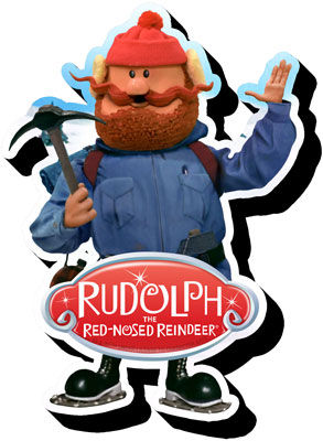 Rudolph Yukon Chunky Magnet