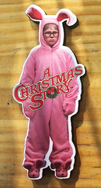 A Christmas Story Pink Nightmare Magnet