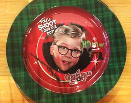 A Christmas Story Plate