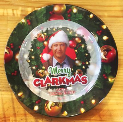 Christmas Vacation Merry Clarkmas Plate