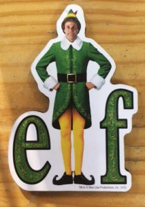 Elf Magnet