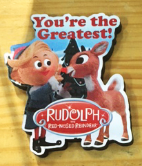 Hermey and Rudolph Magnet