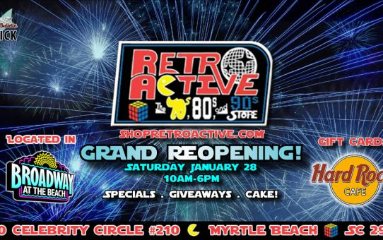Retro Active Store Grand Reopening!