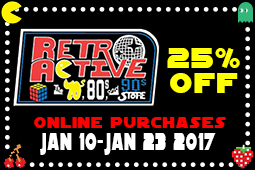 Retro Active 25 % off sale
