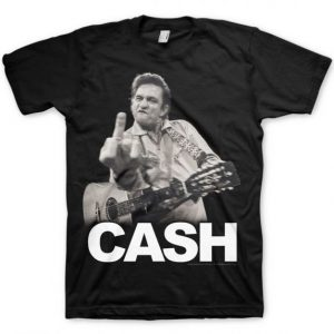 Johnny Cash The Bird t shirt