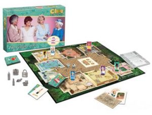 The Golden Girls Clue pieces