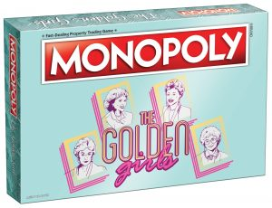 The Golden Girls Monopoly box