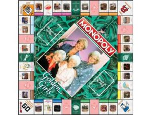 The Golden Girls Monopoly board
