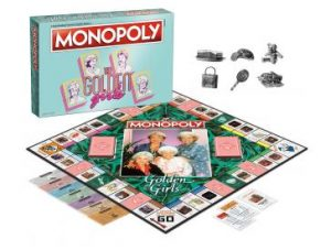 The Golden Girls Monopoly pieces