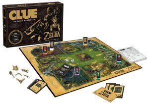 Zelda Clue pieces