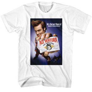Ace Ventura Color Poster t shirt