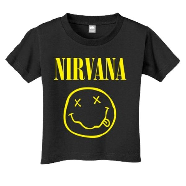 Nirvana Toddler Yellow Smile t shirt
