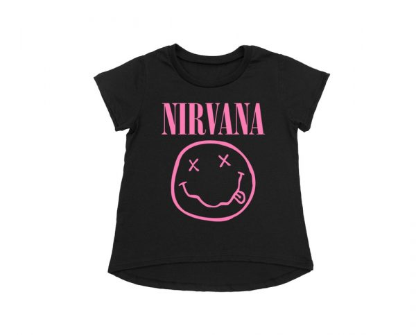 Nirvana Toddler Pink Smile t shirt