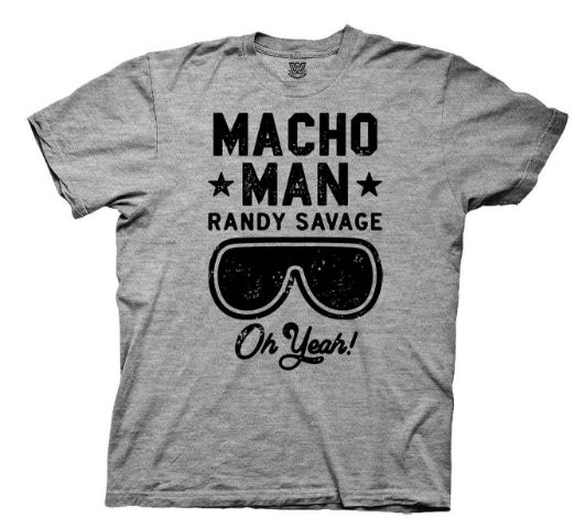 WWE Macho Man Oh Yeah t shirt