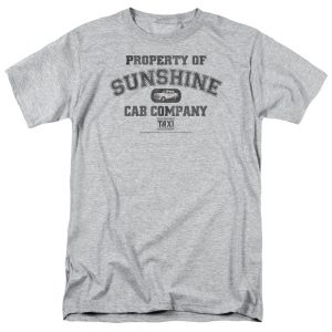Taxi Property of Sunshine Cab t shirt