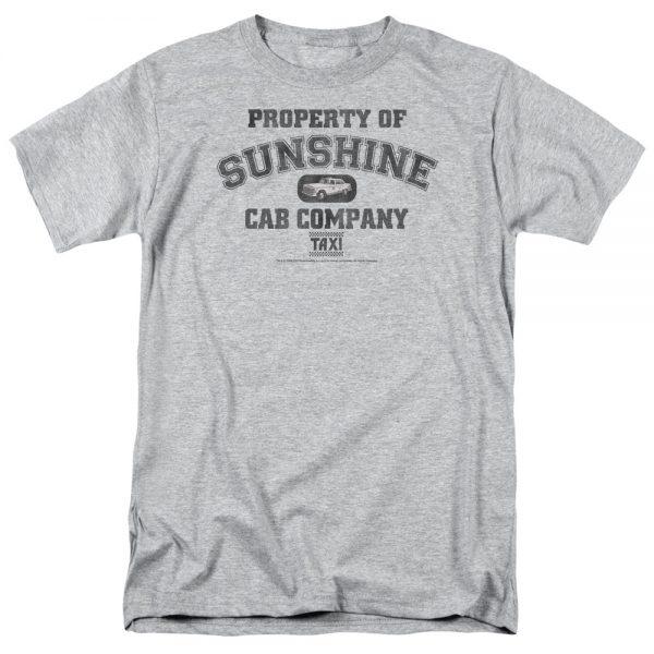 Taxi Property of Sunshine Cab t shirt