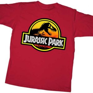 Jurassic Park logo youth t shirt