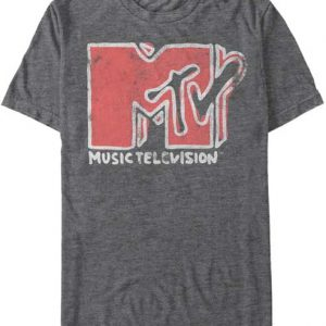MTV Scribble Logo t shirt