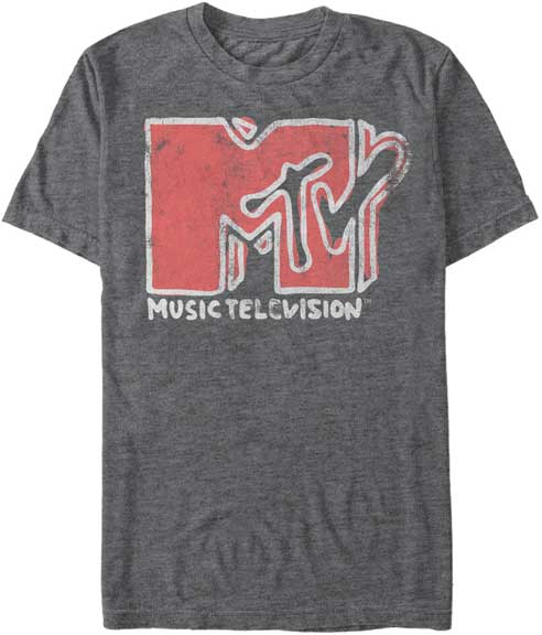 MTV Scribble Logo t shirt