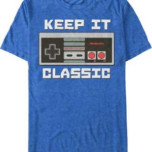 Nintendo Classic Controller t shirt