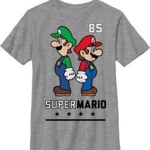 Mario and Luigi youth t shirt