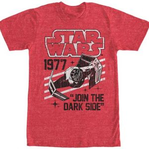 Darth Vader's TIE Fighter 1977 t shirt