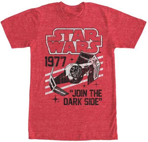 Darth Vader's TIE Fighter 1977 t shirt