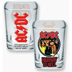 ACDC Square Shot Glass