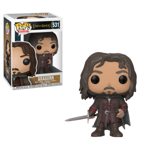 Lord of the Rings Aragorn Funko Pop Vinyl