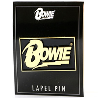 David Bowie Logo Lapel Pin