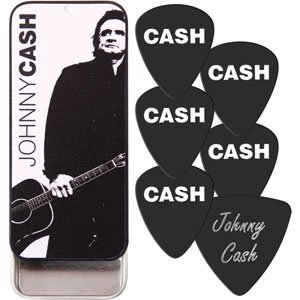Johnny Cash Guitar Pick Tin