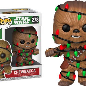 Star Wars Holiday Chewie Funko Pop Vinyl